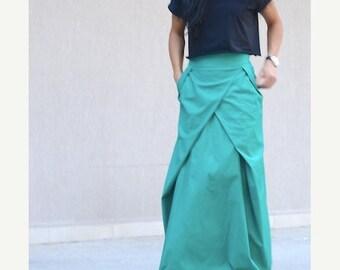 SALE 25% OFF long skirt, high waisted skirts, floor length skirt, maxi cotton skirt, Trendy Skirt, maxi skirts long, long skirt for women, t
