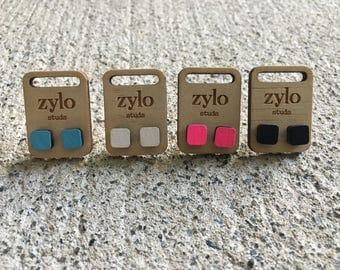 Pixel Stud Earrings