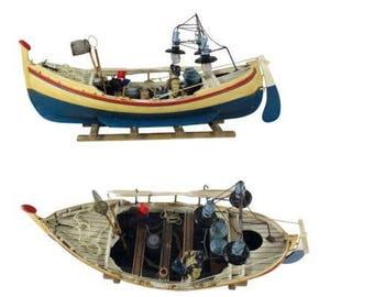 Decorative Ship model Trawler Boat 46 cm