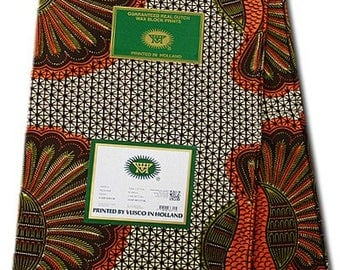 WHOLE 6 YARDS African Vlisco Hollandais Dutch Block Wax Print / African  Ankara Fabric For Dressmakings/pagnes/Kitenge/Chitenge