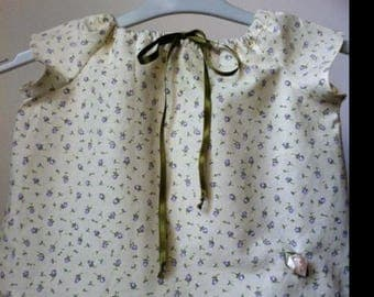 liberty baby blouse