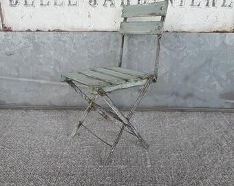 Blue garden chair,   1:12