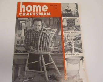Home Craftsman April 1956 Issue