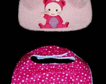 (customizable to order) baby bib