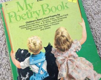 A Romper Room Book - My Poetry Book 1975  Wonder Books