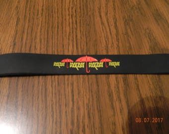 MIP- Mayday Parade one piece molded Rubber Wristband one size fits most