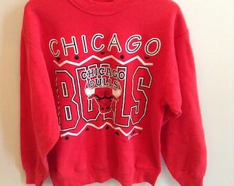 Vintage Chicago Bulls sweatshirt - LARGE