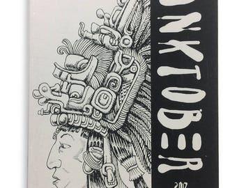 Inktober 2017 Art Zine - 31 drawings!
