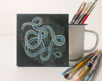 Six: Small Snake Painting