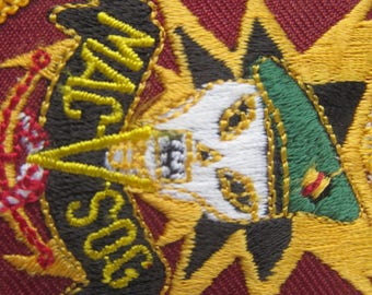 Vietnam War Military MACVSOG Patch - made in TAIWAN - Army Embroidered Patch