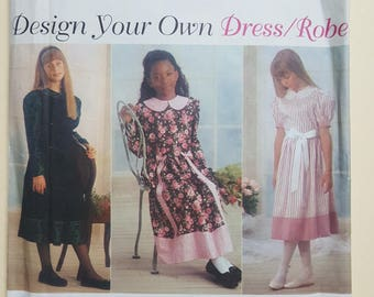 Simplicity Pattern for a Child Sizes 7-14  #9309