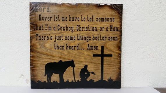 Cowboy's Prayer
