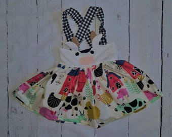 Ask me about my Moo Cow Ani-mazing Suspender Skirt