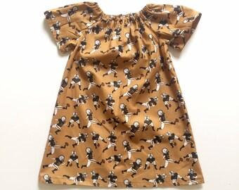 FOOTBALL MUMU // new orleans saints dress // toddler girls dress