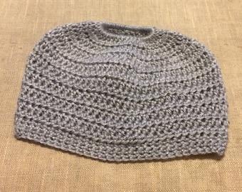 Ponytail-Messy Bun Beanies-Handmade/Crocheted-Made to Order