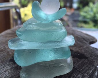 Gorgeous Chunky Stackers of Scottish Sea Glass SG 29.7.17.5