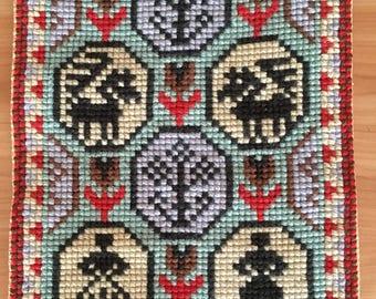 Vtg Swedish Handmade Wall Decor Home Decor Home Textile