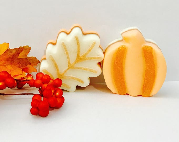 Autumn Scents Goats Milk Pumpkin & Leaf Soap