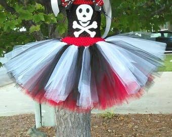 Pirate Princess/ Swashbuckling Sweetie Tutu Dress Set MADE TO ORDER