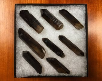 Morion Smoky Quartz Point