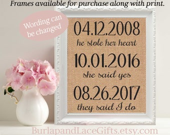 Wedding Gift THE BEST DAY Valentine's Day Gift for Wife Anniversary Gift to Husband Anniversary Gift to Wife Gift to Husband (ana103)