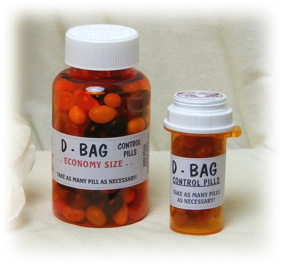 D-BAG GAG PILLS (joke pills)