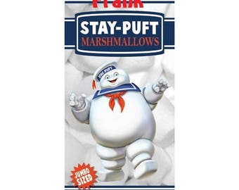 Ghostbusters Beach Towel: Stay Puft Marshmallow Man Cotton Beach Towel Personalized Beach Towel