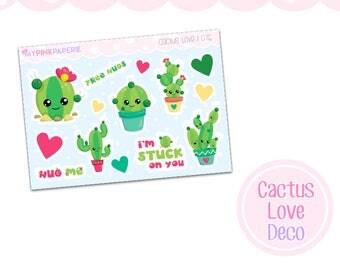 076 | Cactus Love Deco Stickers