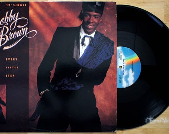 "Bobby Brown - Every Little Step (1989) Vinyl 12"" Single  Don't Be Cruel"