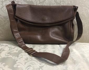 Vintage Gucci Handbag, Gucci Crossbody, Gucci, Vintage Gucci, Leather Crossbody, Gucci Shoulder Bag, Brown Leather Gucci Bag, Messenger Bag