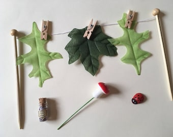 Fairy Washing Line and accessories