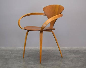 authentic norman cherner for plycraft armchair