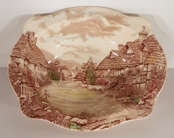 Johnson Brothers OLDE ENGLISH COUNTRYSIDE Oval Vegetable Serving Bowl Damage