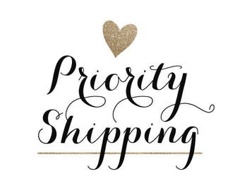 Priority Shipping/UPS