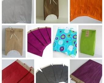 10 pockets 12 cm * 19 cm Kraft gift bags