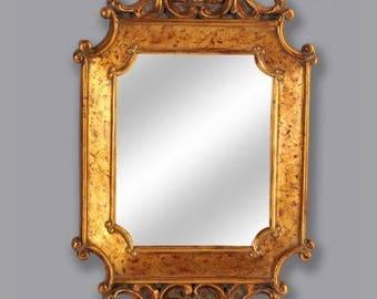 Baroque mirror wall mirror antique style AfPu008