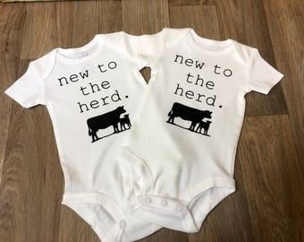 New To The Herd Onesie