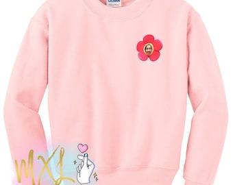 BTS flower J-Hope crewneck sweatshirt