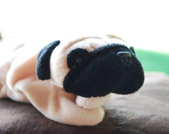 Beanie Baby Original - Pugsly the Pug