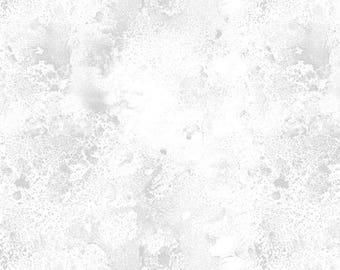 """Cosmos """"White on White""""-Wilmington Prints-BTY"""