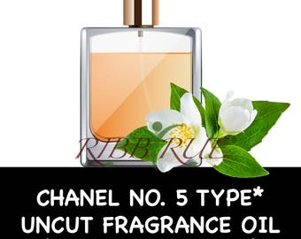 Pure Chanel No. 5 Type* Uncut Fragrance Oil - FREE SHIPPING SHIP