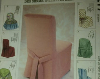 Simplicity Pattern 3217 Sewing Pattern Chair  Pattern Accessories