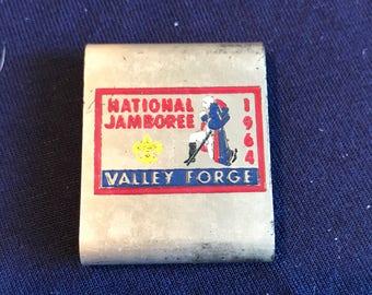 1964 Vintage Cub Scout BELT LOOP - RARE - bsa - Boy Scouts of america - Jamboree - National Jamboree