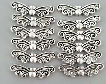 Butterfly/Angel Wings, Bronze, Silver or Copper - 12 Pieces