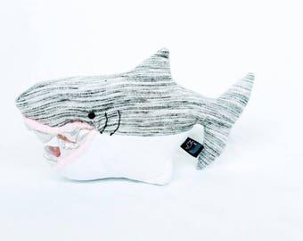 Shark, stuffed shark, plush shark