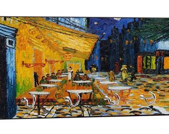 Artist Vincent Van Gogh's Caf