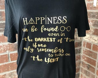 Harry Potter Dumbledore Quote Womens T-Shirt