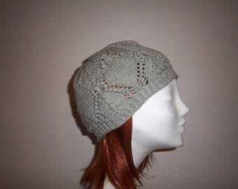 Hat woman wool (grey).