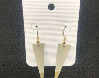 Joanna Gaines inspired leather earrings