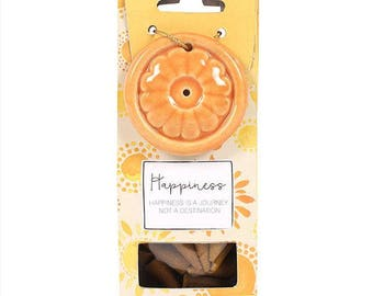 Happiness Incense Cone Set